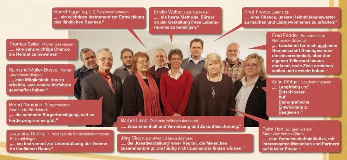 LAG Bördeland Vorstand 2007