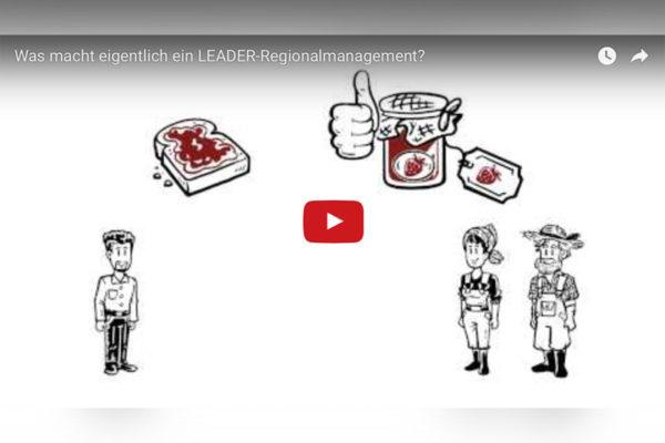 Einblick in das LEADER-Regionalmanagement