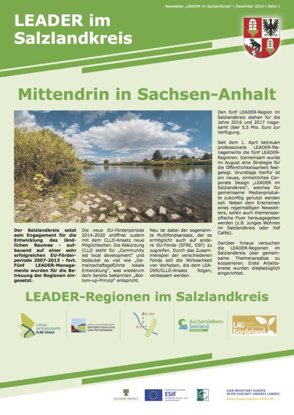 2016-12 LEADER Salzlandkreis Newsletter 01