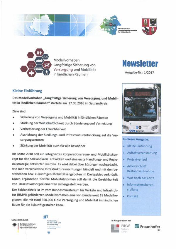 Modellvorhaben: Versorgung und Mobilität im Salzlandkreis