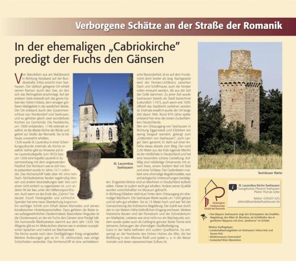 Verborgene Schätze Bördeland Seehausen