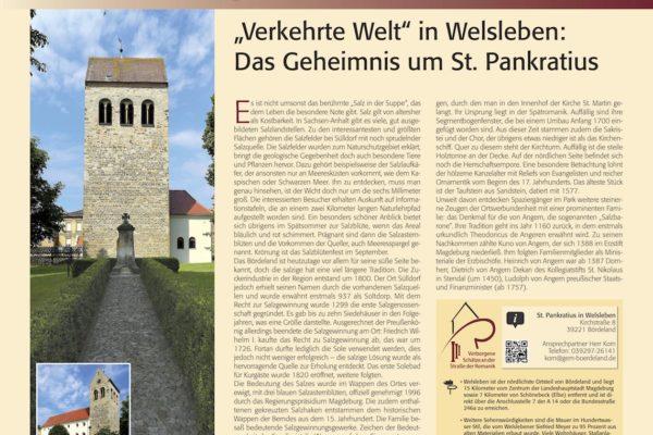 Verborgene Schätze Bördeland Welsleben