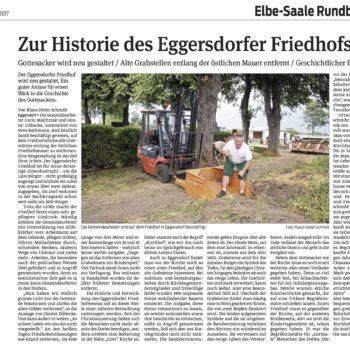 Volksstimme Friedhofsmauer Eggersdorf