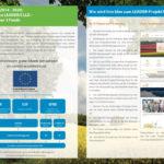 Broschüre mit Informationen zur Förderung von LEADER - Projekten