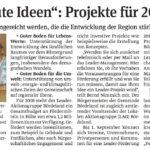 """""""Guter Boden für gute Ideen"""": Projekte für 2018 gefragt"""