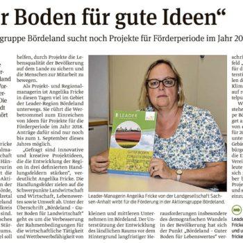 """""""Guter Boden für gute Ideen"""""""