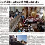 St. Martin wird zur Kulturkirche