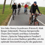 Region wird zu einer Radwege-Hochburg