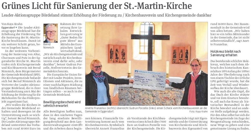Grünes Licht für Sanierung der St.-Martin-Kirche