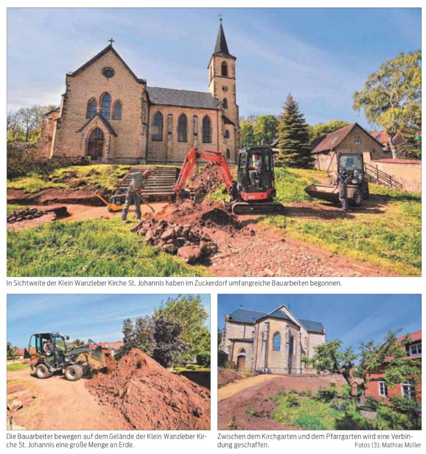 """""""Die Kirche summt"""" im Zuckerdorf"""