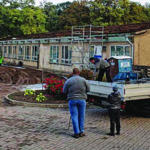 Schulgebäude bald Geschichte