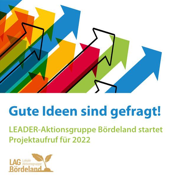 LEADER-Aktionsgruppe Bördeland startet Projektaufruf für 2022